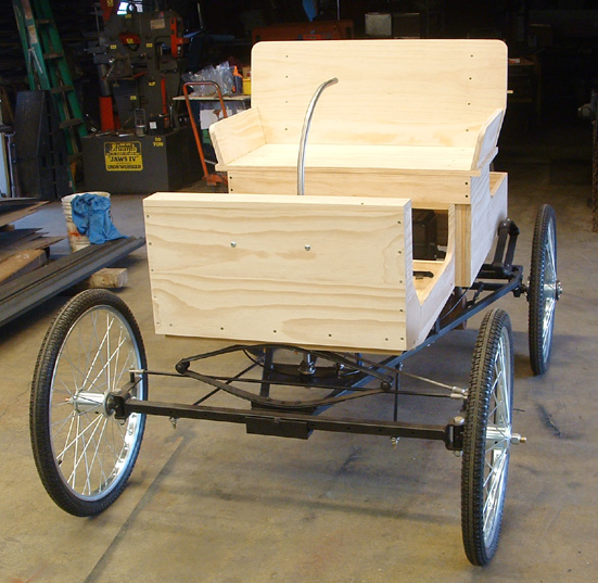 Photo gallery for How to build a carriage